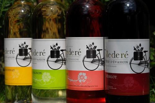 wino z rowerem ile de re