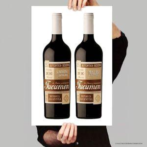 Guillo Milia wino z rowerem