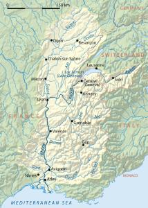 Rhone_drainage_basin